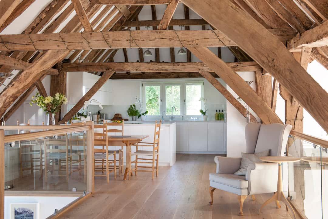 Barn Conversion Kitchens minimalist barn conversion kitchen | mtd