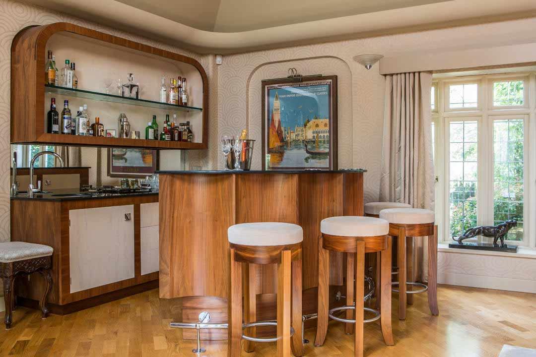 art deco bar berkshire mtd. Black Bedroom Furniture Sets. Home Design Ideas