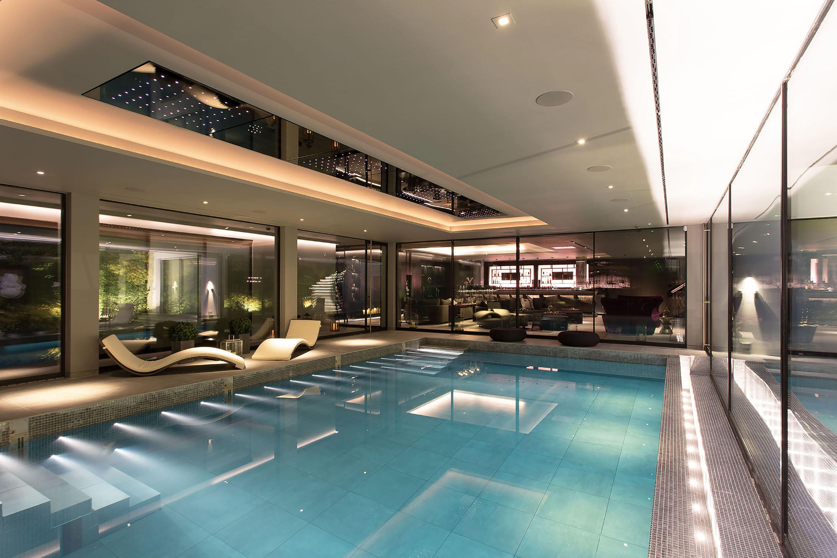 Hydraulic Floor Swimming Pool Mtd