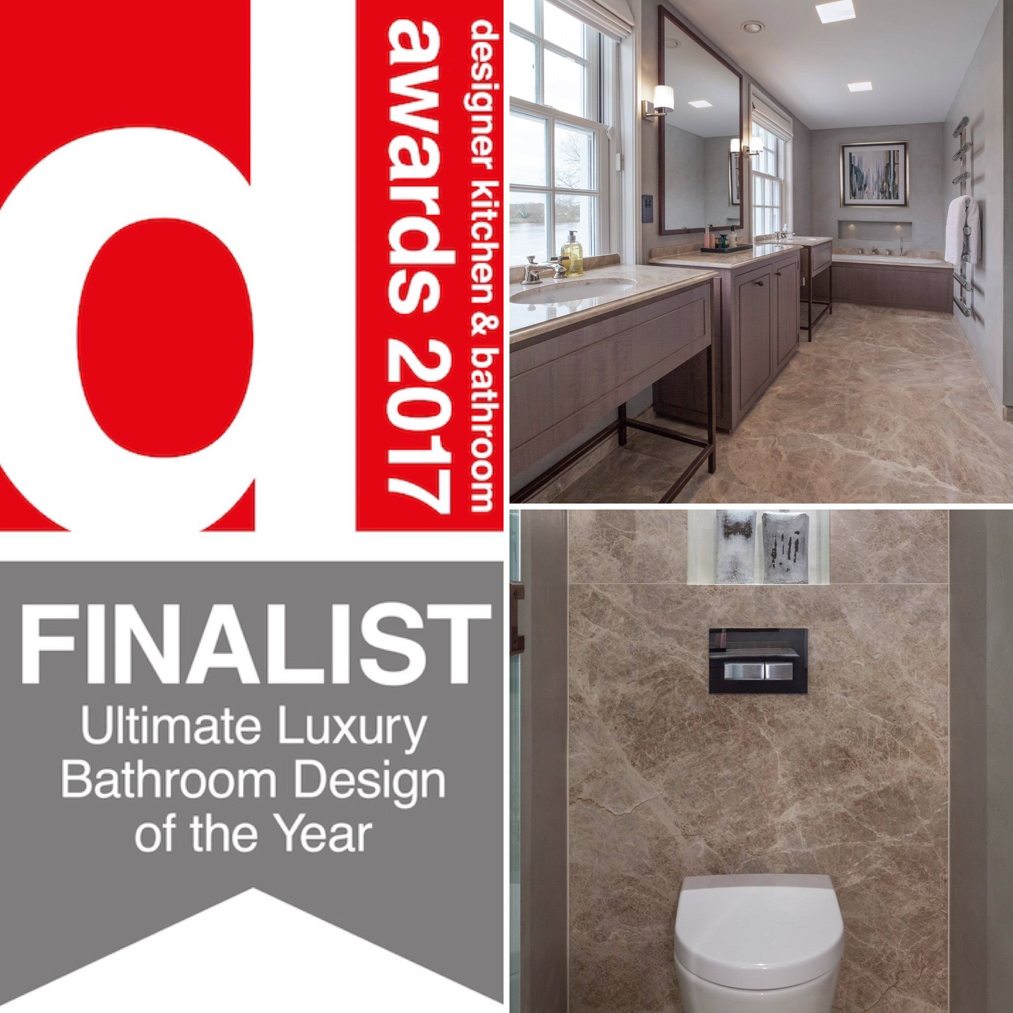 MTD Finalists In Designer Kitchen U0026 Bathroom Awards 2017